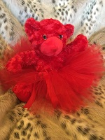 Red Holiday Bear-