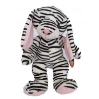 Zoey the Zebra Bunny