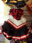 Black, Red and White Cheer Uniform