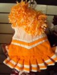 Orange and White Cheer Uniform-