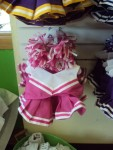 Hot Pink and White Cheer Uniform