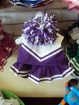 Purple and White Cheer Uniform
