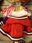Red, Black and White Cheer Uniform